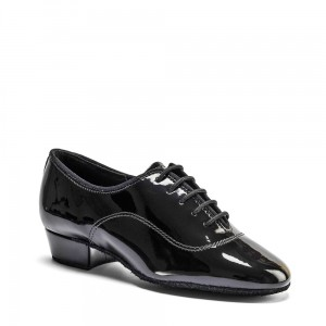 Boys MT - Black Patent